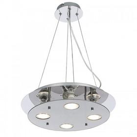 Lampa wisząca Naomi LED chrom okrągła