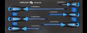 Zestaw wkrętów PH 6szt, wkład EVA