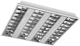 Oprawa rastrowa LED VIGO 4x14W T5 G5 podtynkowa