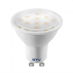 Żarówka LED GU10, 4W, 300lm, ciepła biała
