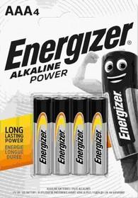 Baterie Energizer alkaiczne POWER AAA LR03 4szt.