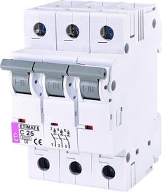 Wyłącznik nadprądowy 3P 6kA C25A