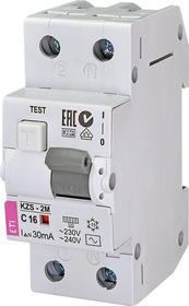 Wyłącznik różnicowonadprądowy 2P C16A 0,03A, AC