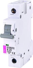 Wyłącznik nadprądowy 1P 6kA B20A