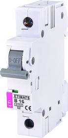 Wyłącznik nadprądowy 1P 6kA B16A