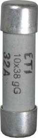 Wkładka topikowa cylindryczna CH10x38 gG 25A
