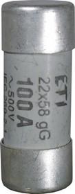 Wkładka bezpiecznikowa cylindryczna CH22x58  gG 63A