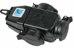 Rozgałęźnik trójgniazdowy 3x250V 16A IP44