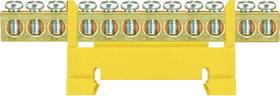 Listwa zaciskowa LZ 12 żółta