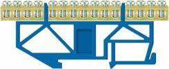 Listwa zaciskowa LZ 15 Niebieska wysokość podst.10