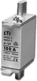 Wkładka topikowa zwłoczna WT-00C/gG 100A