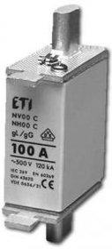 Wkładka topikowa zwłoczna WT-00C/gG 80A