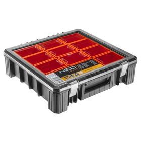 Organizer z kubełkami 40 x 40 x 12 cm NEO TOOLS