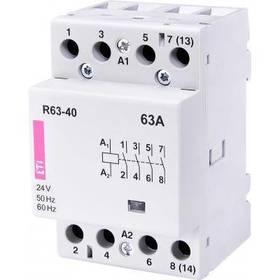 Stycznik modułowy 63A 24V AC 4Z 0R R 63-40 24V