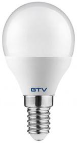 Żarówka LED 8W, E14, ciepła biała, kulka