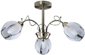 Lampa wisząca Joel, E27, 3x60W, brązowa