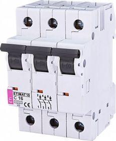 Wyłącznik nadprądowy 3P, 10kA, C16A, AC