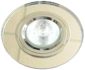 Oprawka stała okrągła, chrom, szkło bezbarwne SS-15 CH/WH, MR16