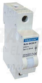 Modułowa lampka sygnalizacyjna LED, biała, 230V AC
