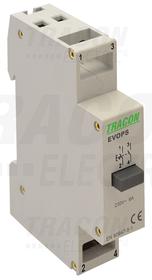 Przycisk modułowy 230V, 50Hz, 2NO, Ith: 16A, AC-14, le: 6A