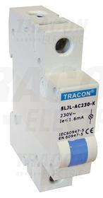 Modułowa lampka sygnalizacyjna LED, niebieska, 230V AC