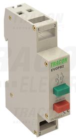 Przycisk modułowy 230V, 50Hz, 1NO, ith: 16A, AC-14, le: 6A