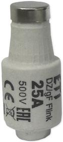 Wkładka bezpiecznikowa DII gF 25A 500V (BiWts)