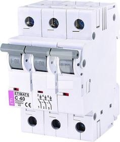 Wyłącznik nadprądowy ETIMAT 6 3p C40