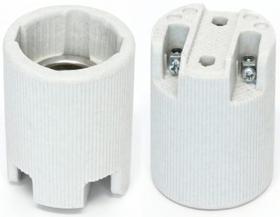 Oprawka porcelanowa z uchwytem E14