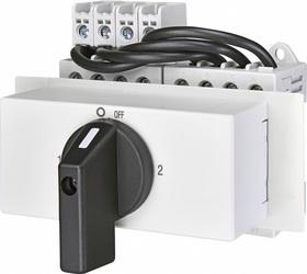 Przełącznik 1-0-2 4P 40A z rączką LAS 40 COP