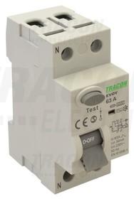 Wyłącznik różnicowo-prądowy, 2-polowy,40A, 30mA, 6kA, AC