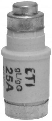 Wkładka bezpiecznikowa D02/gG/25A/E14/400V (1)