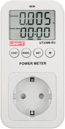 Gniazdo sieciowe z miernikiem zużycia energii UNI-T UT230B-EU (1)