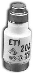 Wkładka bezpiecznikowa D02/gG/20A/E14/400V (1)